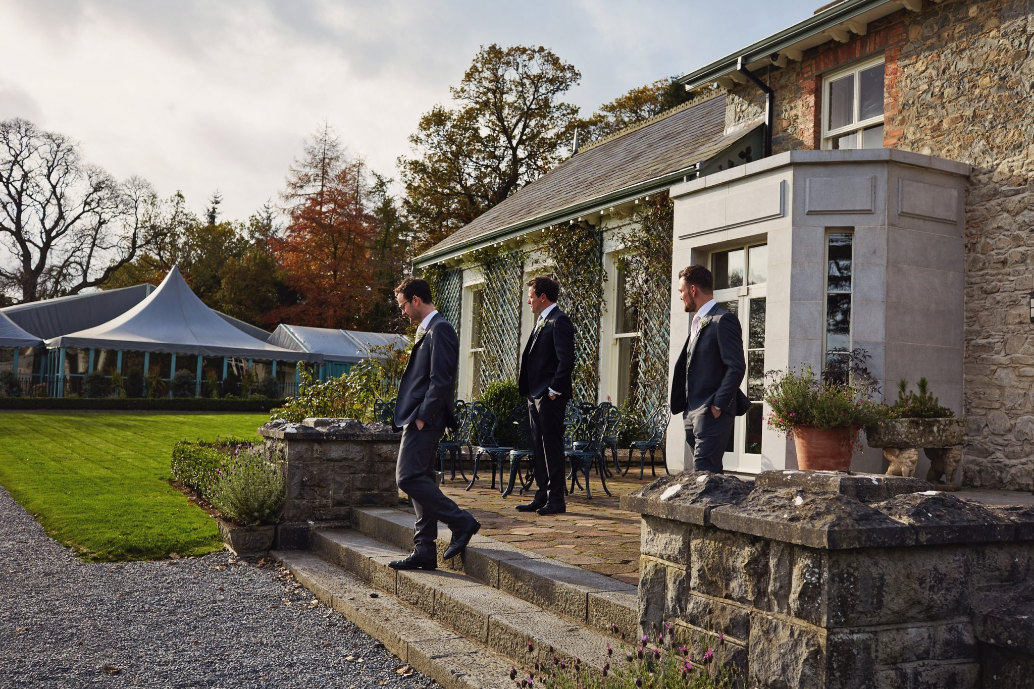 Kate & Patrick, Virginia Park Lodge, Irlandia